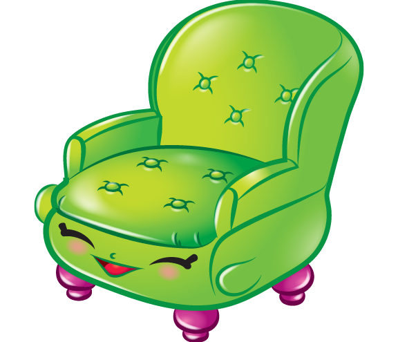 576x495 Comfy Chair Art Official Shopkins Clipart Free Image
