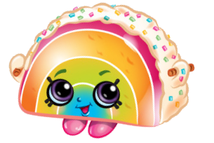 305x204 Rainbow Bite Shopkins, Clip Art And Rainbows