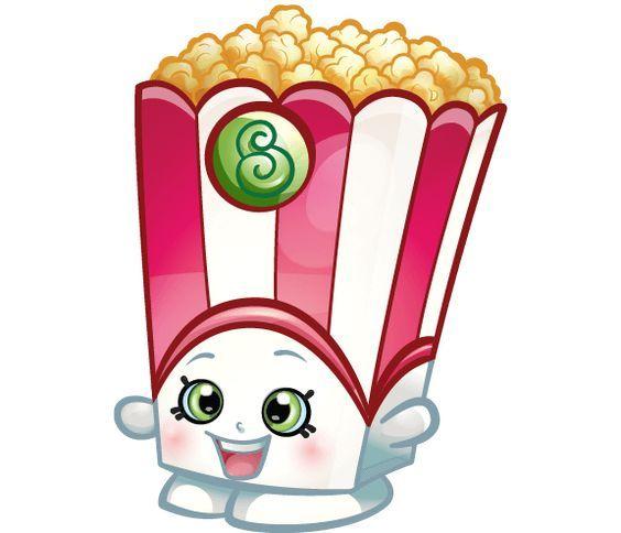 564x484 Shopkins Popcorn Clipart