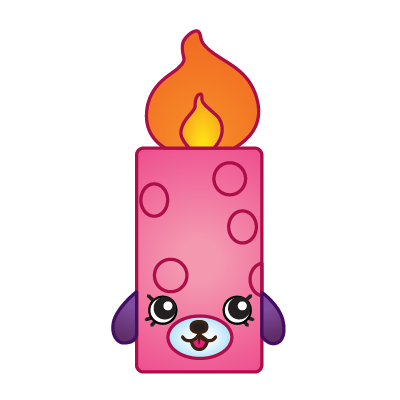 400x400 Flicker Candle Variant Art Shopkins Clipart Free Image