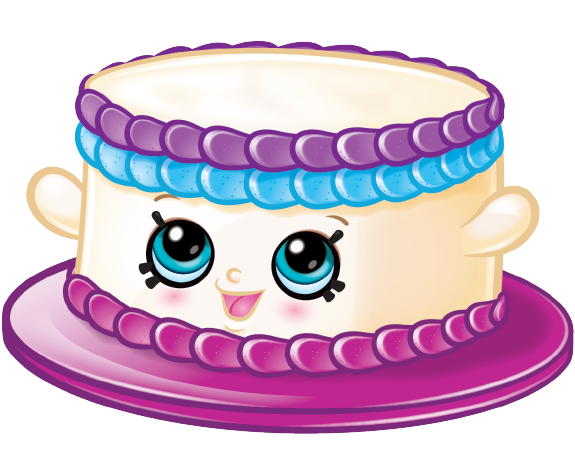 575x475 Collection Of Shopkins Birthday Cake Clipart High Quality