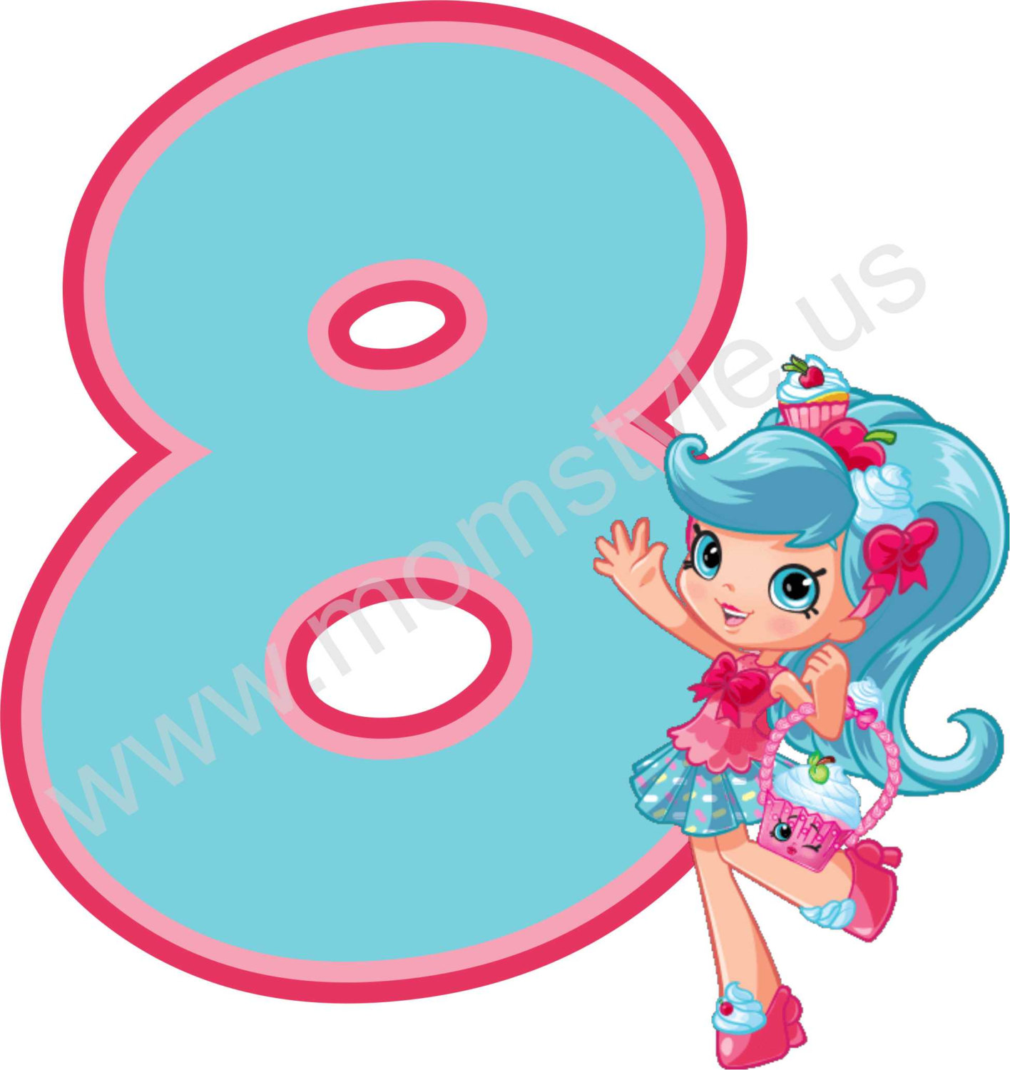 1416x1500 Diy Shopkins Shoppies Jessie Cake