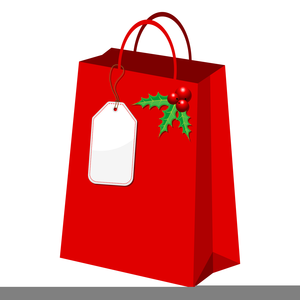 300x300 Christmas Shopping Bag Clipart Free Images