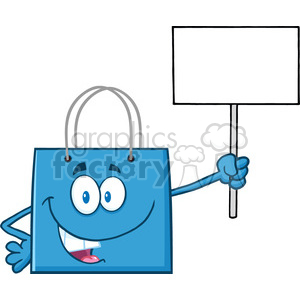 300x300 Royalty Free 8761 Royalty Free Rf Clipart Illustration Blue