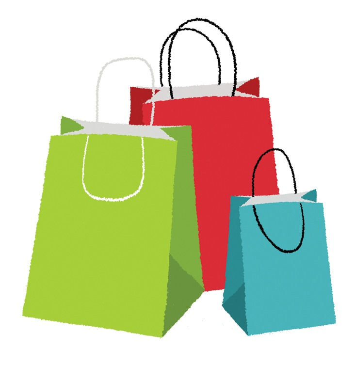 734x753 Shopping Bag Clipart Free Download Clip Art
