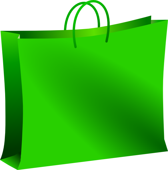 588x596 Shopping Bag Clipart Green Shopping Bag Clip Art