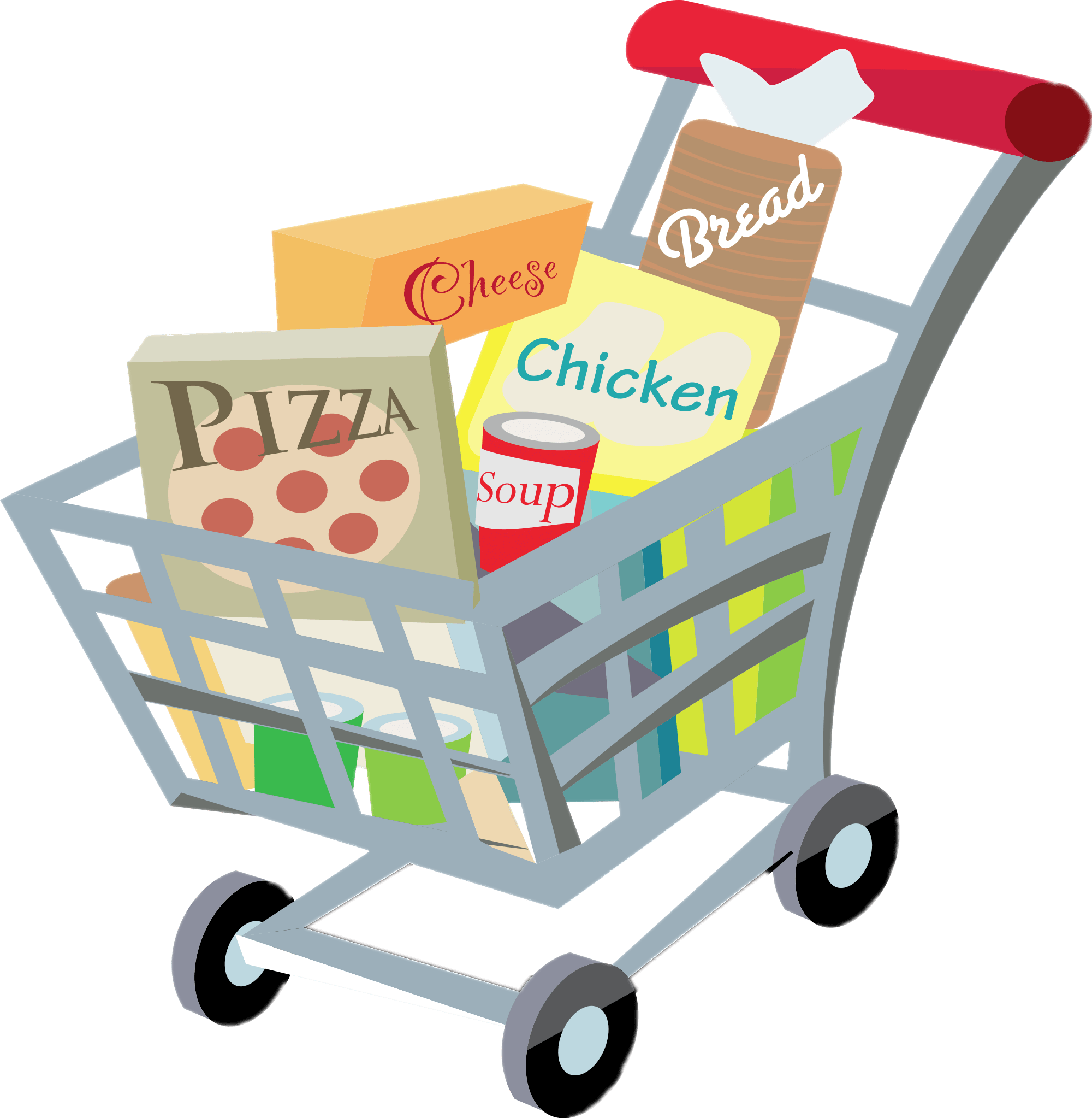 2000x2046 Shopping Cart Clipart Transparent Png