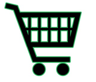 321x274 Shopping Cart Clipart