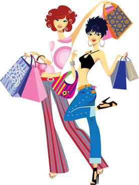 277x368 Fashion Shopping Girls Clip Art Free Vector Download (216,226 Free