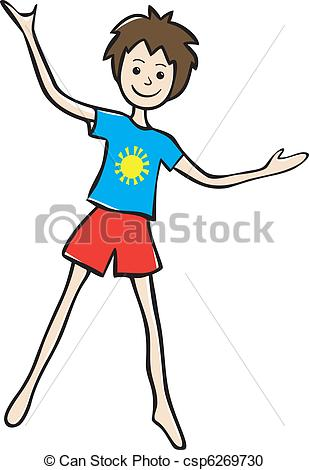 309x470 Shirt And Shorts Clipart