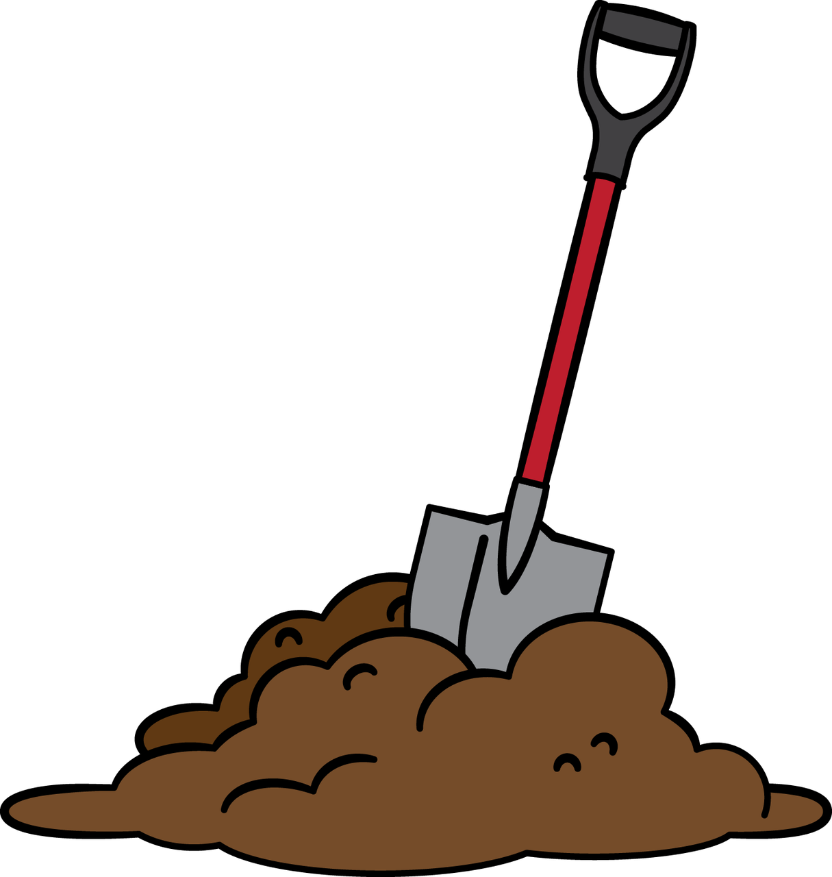 1215x1280 Digging Dirt Angel Moroni Clip Art