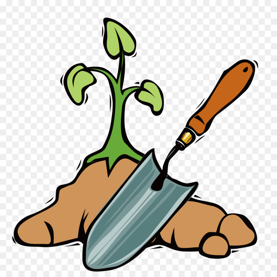 900x900 Garden Tool Shovel Spade Clip Art