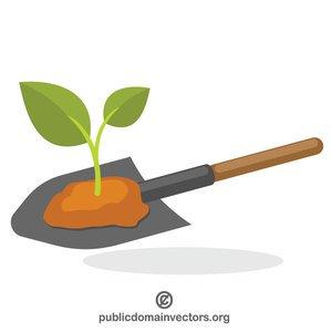 300x300 619 Shovel Picture Clip Art Public Domain Vectors
