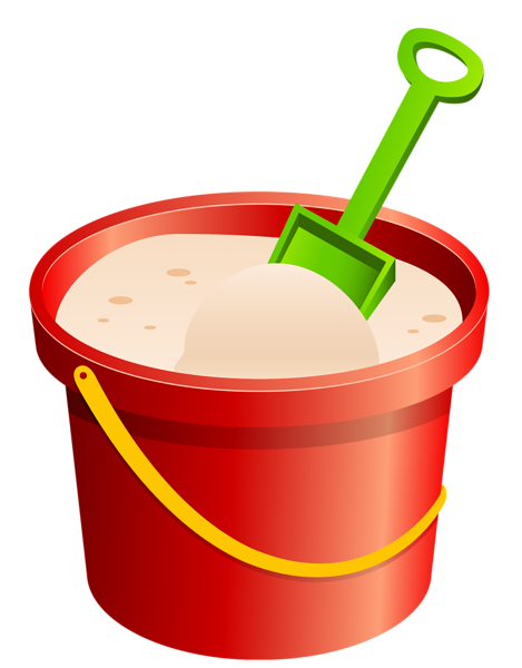469x600 Red Sand Bucket And Green Shovel Png Clipart Tubes Allerlei