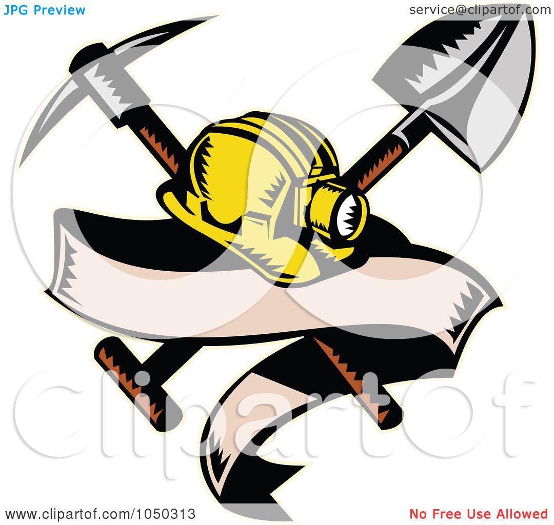 1080x1024 Royalty Free (Rf) Cliprt Illustration Of Miner Hat