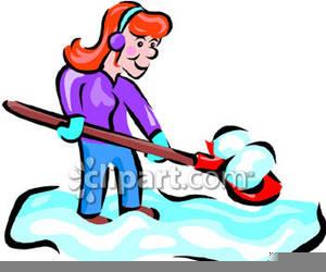 300x250 Snow Shovel Clipart Free Free Images