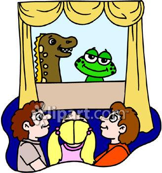 328x350 Puppet Show Clip Art 109507