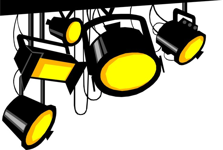 736x496 Actor Clipart Stage Lighting