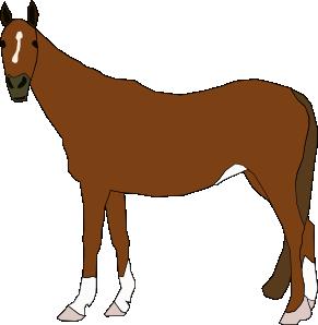 291x298 Horse Clip Art Free Vector 4vector