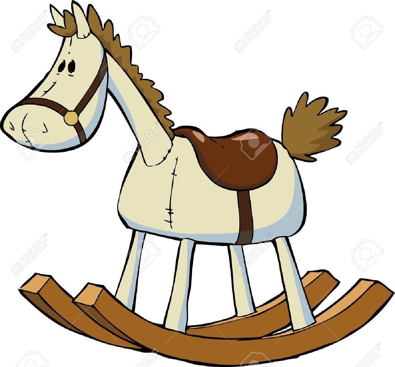 1300x1207 Strikingly Rocking Horse Clip Art 4 270 Stock Illustrations