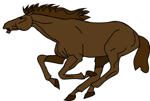 600x404 Animated Horse Running Clip Art Danaamda Top