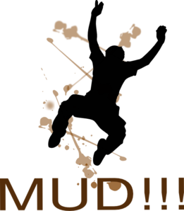 261x298 Jumping Mud Man Clip Art