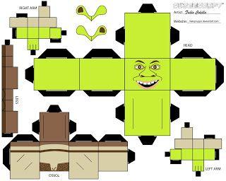 Shrek Christmas Clipart