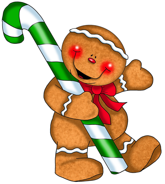 538x600 Gingerbread Man Clip Art