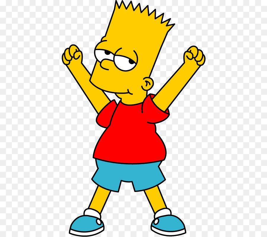 900x800 Bart Simpson Animation Clip Art
