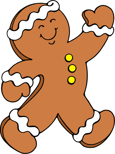 367x492 Images Of Gingerbread Man Free Download Clip Art Clipart