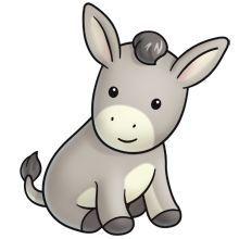 Shrek Donkey Clipart