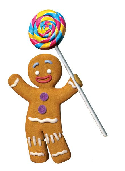 Shrek Gingerbread Man Clipart