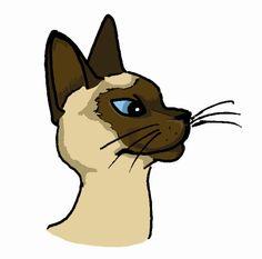236x233 Siamese Cat Clip Art Siamese Siamese, Siamese Cat