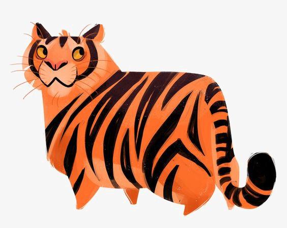 564x449 Tiger, Cartoon Tiger, Tiger Pattern, Siberian Tiger Png Image