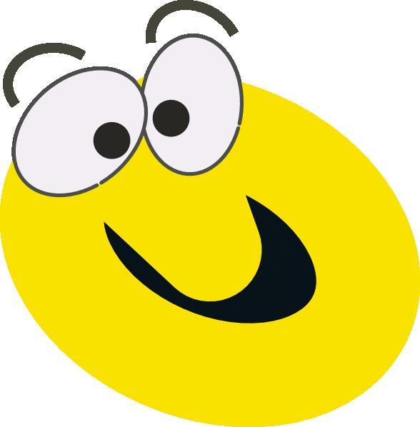 588x598 Cartoon Face Clip Art