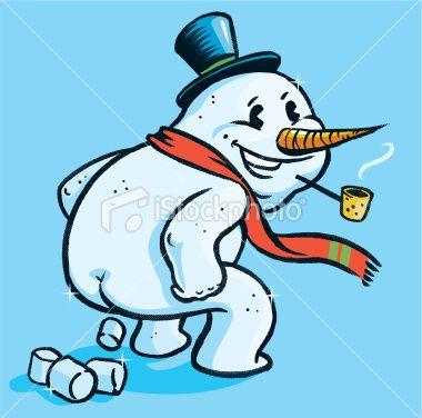 380x376 Snowman Clipart Silly