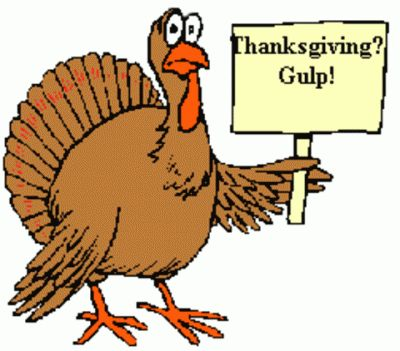 Silly Turkey Clipart