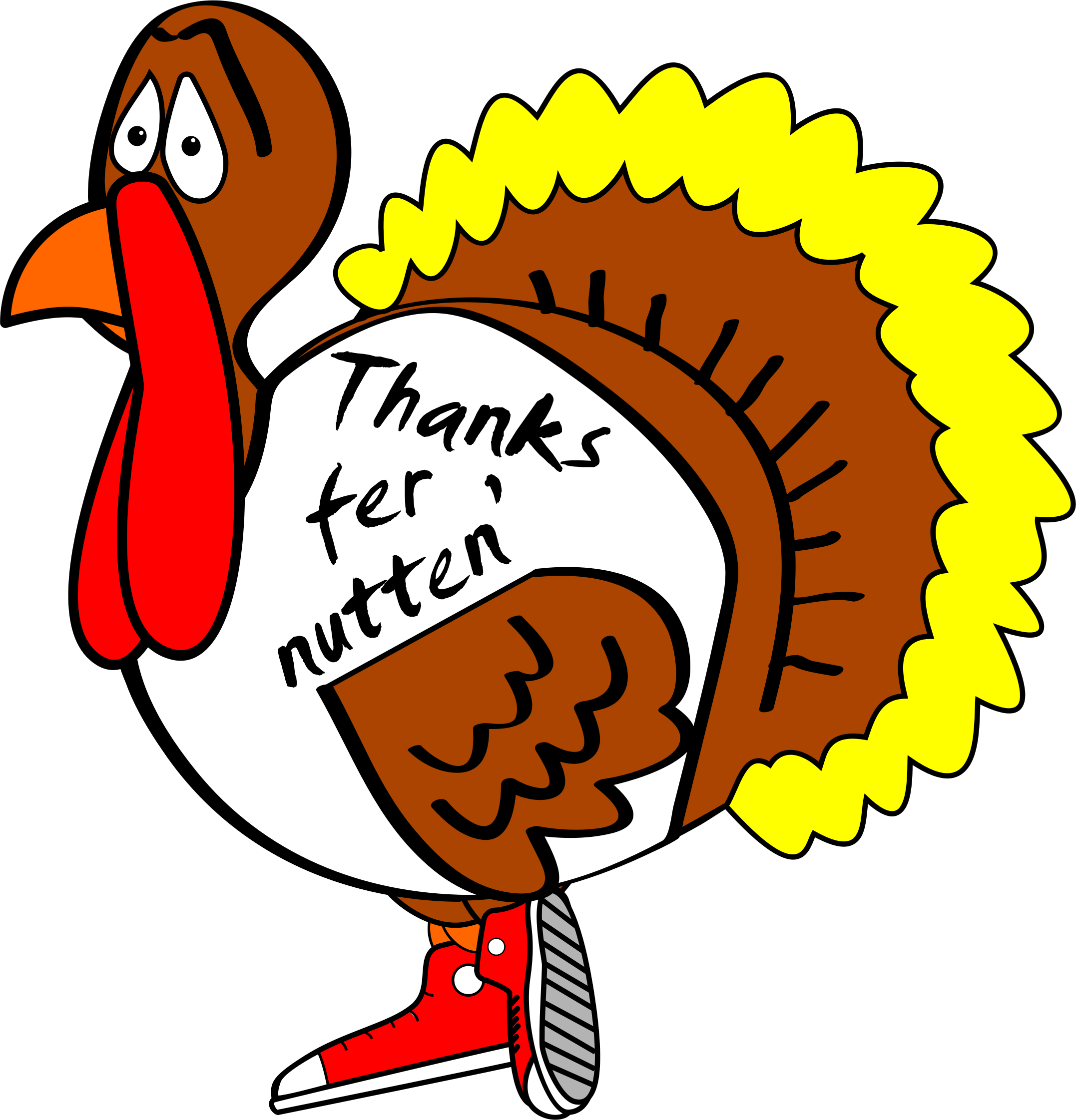 2154x2243 Free Silly Thanksgiving Clip Art 101 Clip Art