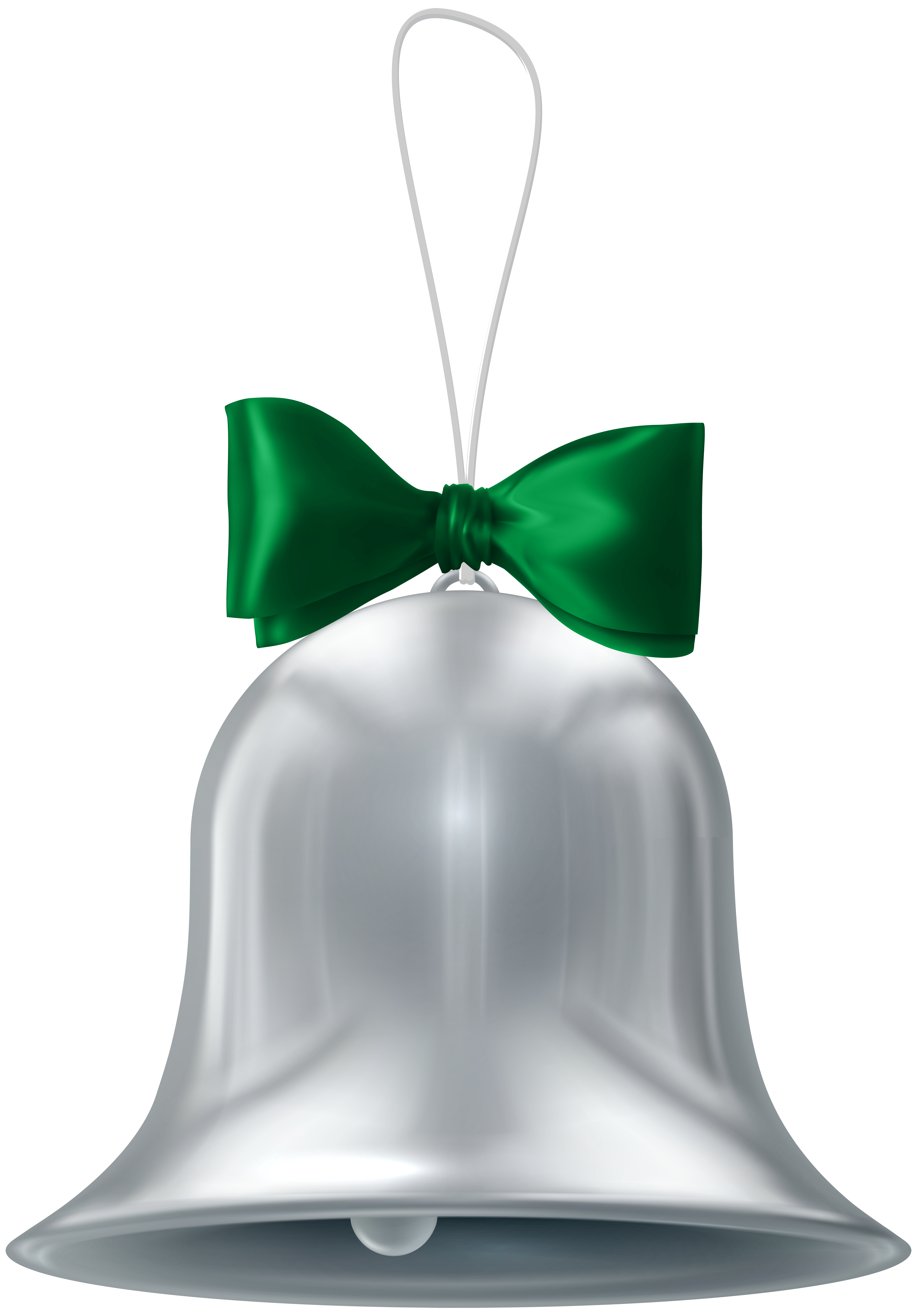 5576x8000 Christmas Silver Bell Transparent Png Clip Artu200b Gallery