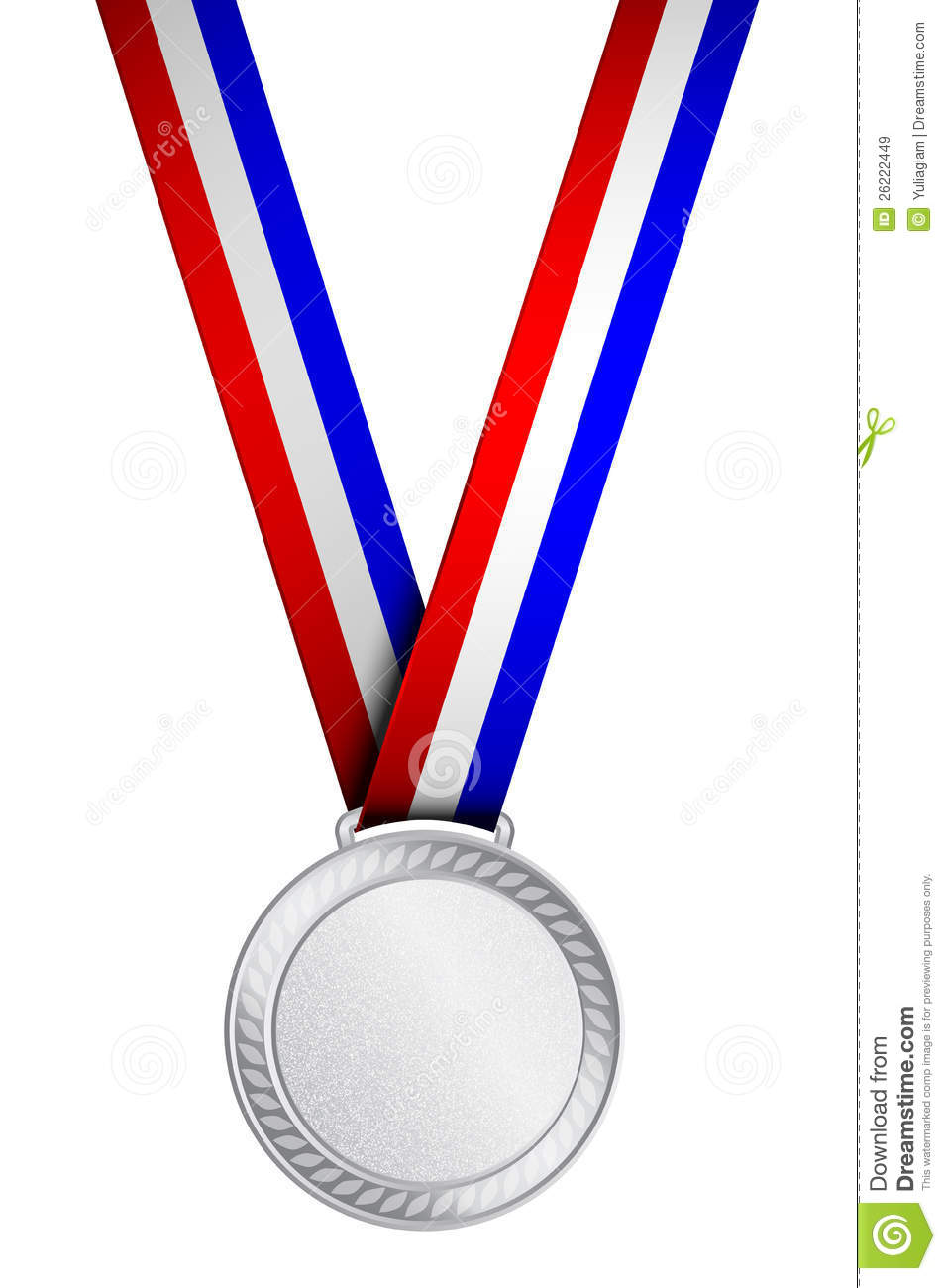955x1300 Silver Award Medal Clipart