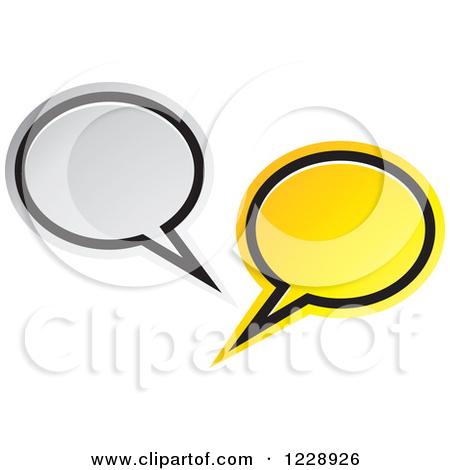 450x470 Speech Is Silver Clipart