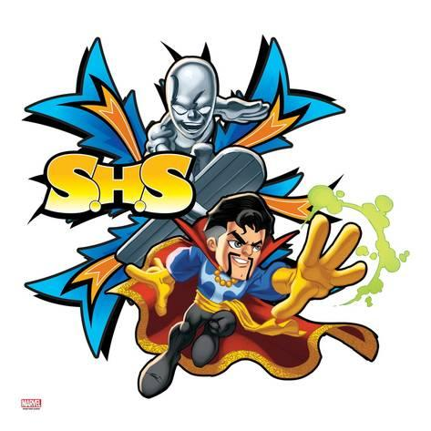 473x473 Marvel Super Hero Squad Badge S.h.s.