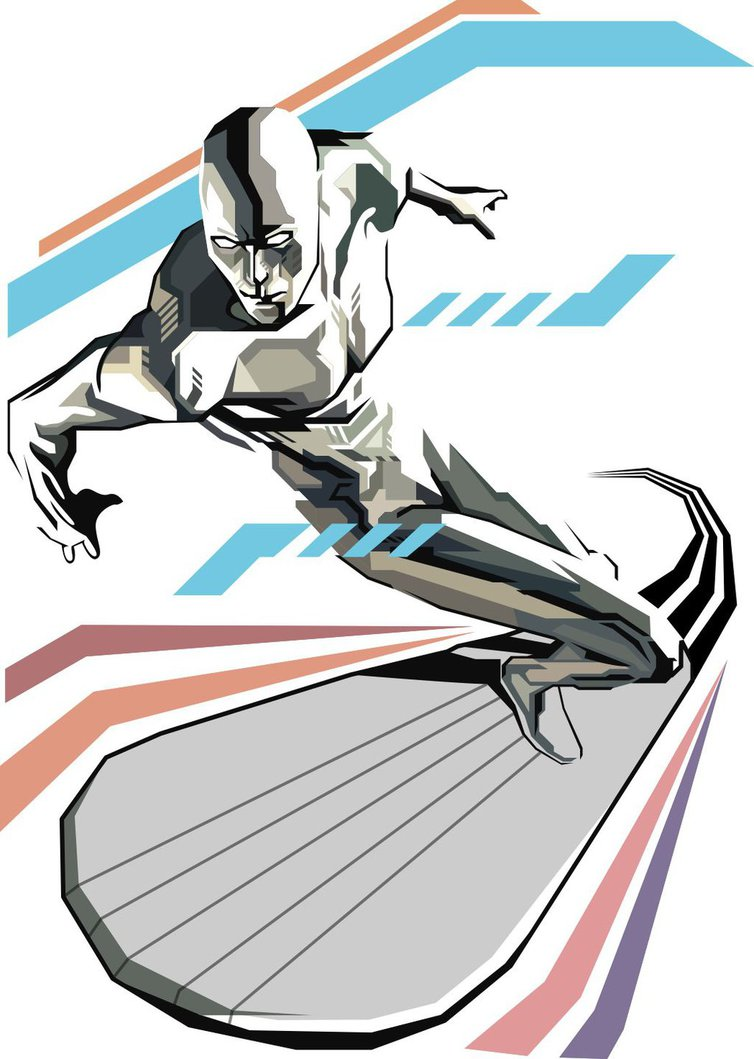 754x1059 Silver Surfer By Cahyowhy