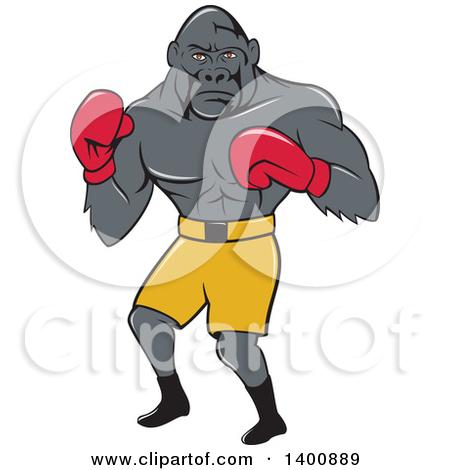 Silverback Gorilla Clipart