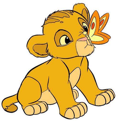 Simba And Nala Clipart