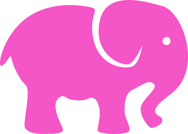 600x427 Image Of Elephant Clipart Outline