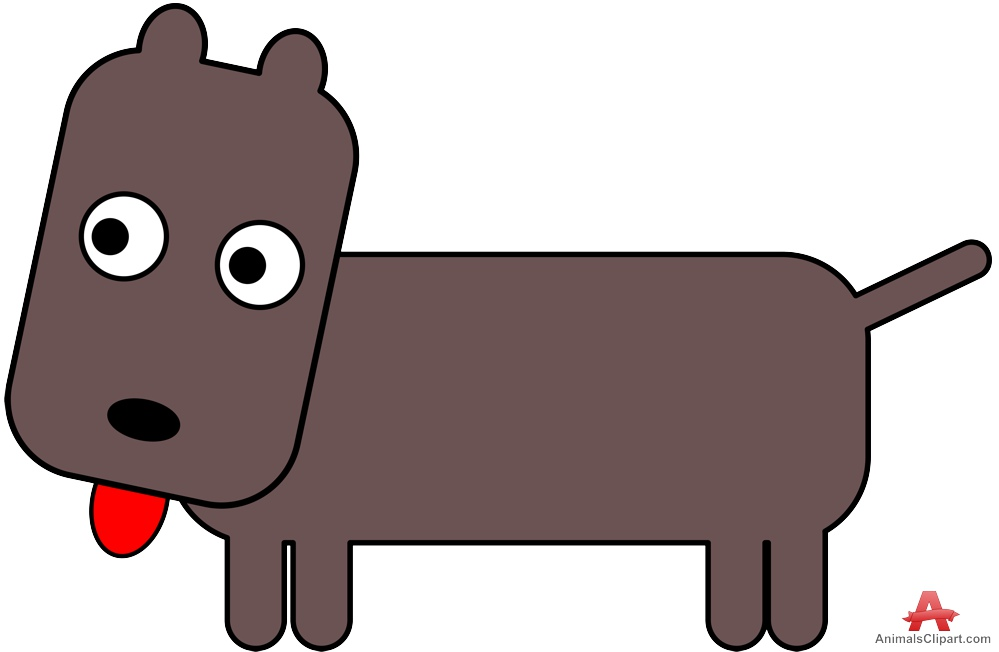 999x652 Little Dog Simple Clipart Free Clipart Design Download