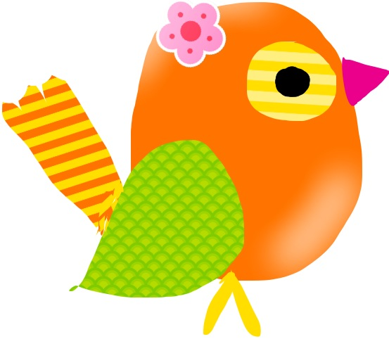 Simple Bird Clipart At GetDrawings