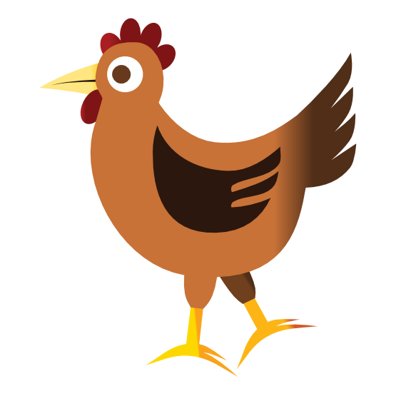 555x555 Chicken Clipart