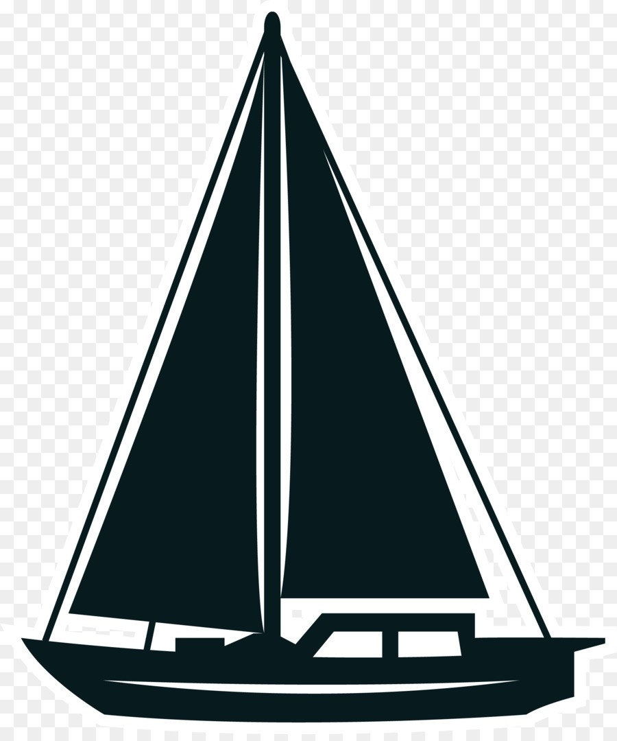900x1080 Colorable Sailboat Line Art Free Clip And Clipart Png